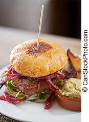 Vegetarian Falafel Burger