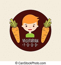vegetarian food design
