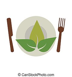 vegetarian food diet health vector illustration eps 10