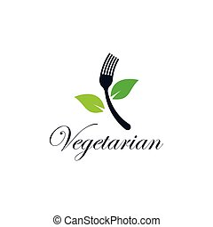 Vegetarian food vector icon
