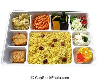 Vegetarian lunch packet
