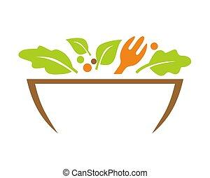 Vegetarian Restaurant Logo - Good Logo for your company