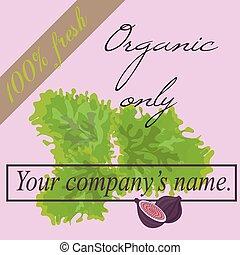 Vegetarian sign.