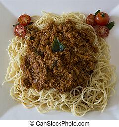 Vegetarian Spaghetti Bolognaise