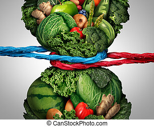 Vegetarian Struggle