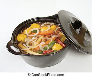 Veggie soup - Onion and vegetable soup