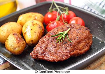 veggie-steak