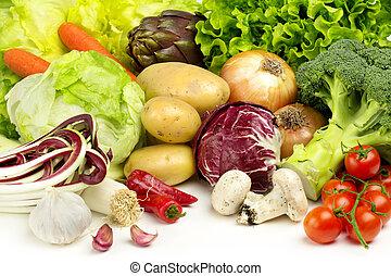 veggies, cobrança