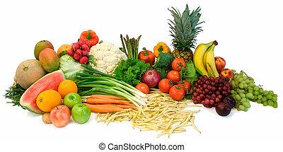 veggies, frutte