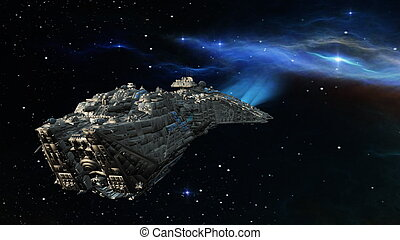 vehículo espacial