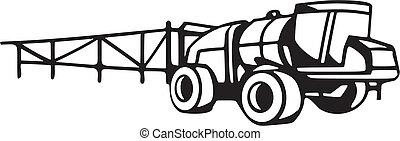 vehículos, agricultura