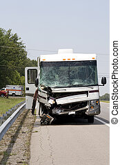 vehicle accident - Pickup truck pulled out in front of large...