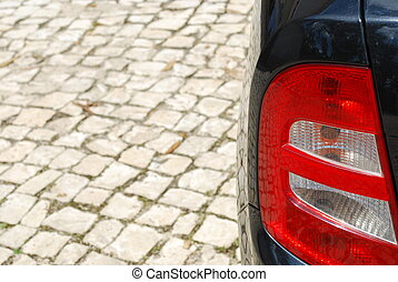 Vehicle back light - photo of a vehicle back light