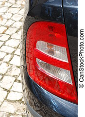 Vehicle back light - photo of a vehicle back light