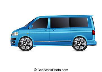 vehicle - illustration of jeep on isolated background