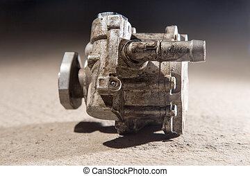 Vehicle hydraulic pump