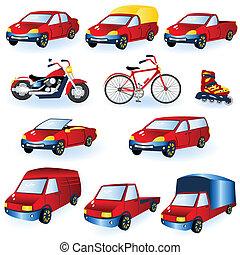 Vehicle icons 1