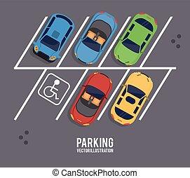 vehicle parking zone design