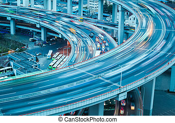 vehicle trajectory on the bridge approach - automobile...