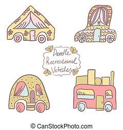vehicles-6, doodle, recreacional