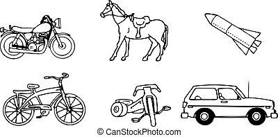 Vehicles a vector