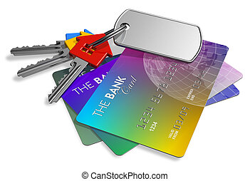 veiligheid, concept, financieel