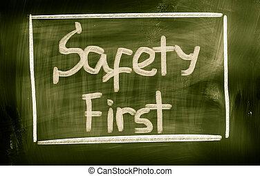 veiligheid eerst