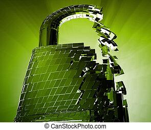 veiligheid, hacking, bypass