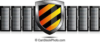 veiligheid, netwerk, servers