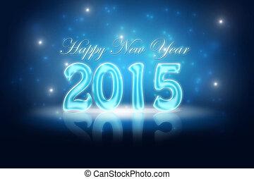 veille, années, nouveau, 2015