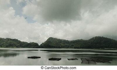 veiwing, индонезия, озеро, лес
