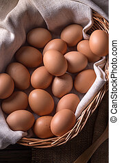 vejce, organický