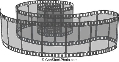 vektor, ábra, közül, film