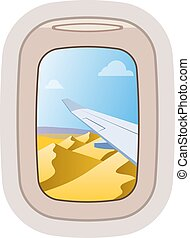 vektor, állhatatos, menekülés, repülőgép, aairplane,...
