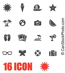 vektor, állhatatos, sport, szürke, ikon