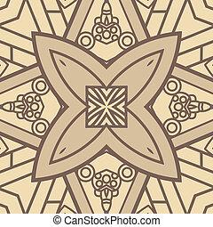 vektor, čtverec, ozdobný navrhovat, pralátka