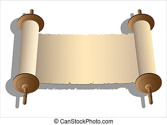 vektor, ősi, cikornyázik