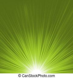 vektor, 8, starburst, eps, rays.
