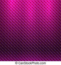 vektor, abstrakt, seamless, metallisk, mønster, hos,...