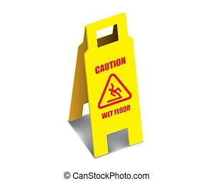 Boden achtungsvorzeichen nasse boden zeichen achtung for Boden clipart