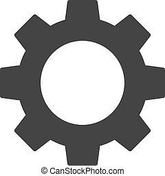 vektor, ausrüstung, abbildung, ikone