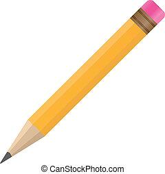 vektor, blyertspenna