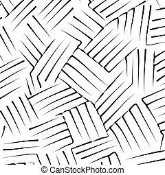 vektor, briefe, zeichnung, hand