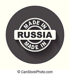 vektor, byt, udělal, symbol, russia.