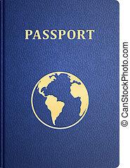vektor, cestovní pas