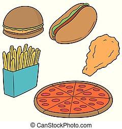 vektor, dát, o, hustě food