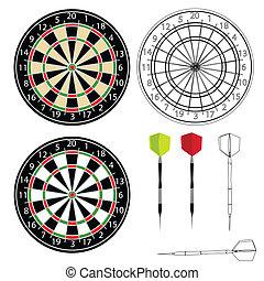 vektor, darts