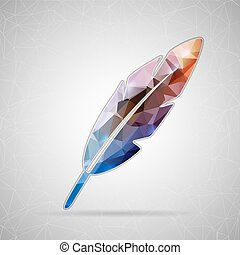 vektor, design, dein, element