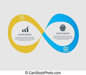 vektor, design, illustration, elementara, infographics