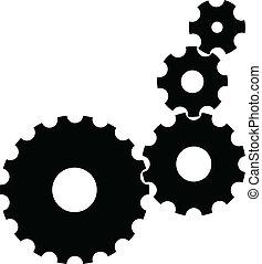 vektor, det gears